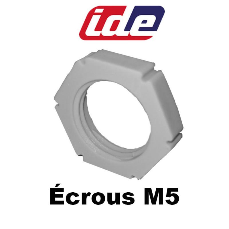 Ecrou M5 pour charnières argenta IDE