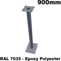 Poteau de support pour armoire ou coffret électrique