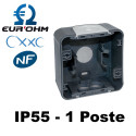Boite à entrées directes GRIS SAILLIE IP55 - OXXO Eurohm