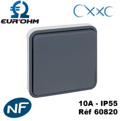 Interrupteur va et vient 10A IP55 composable OXXO