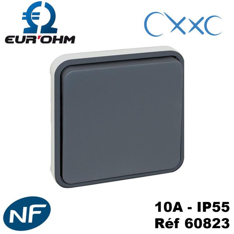 Bouton poussoir composable - OXXO Eurohm Eur'Ohm