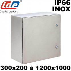 Coffret inox 304 pour installation électrique