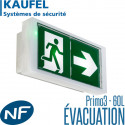 Bloc Kaufel PRIMO3 60L autotestable SATI 100% Led Kaufel