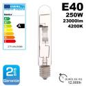 Ampoule à iodure métallique E40 MHE-250W/4200K