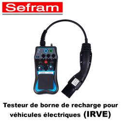 Testeur de borne de recharge pour véhicules électriques