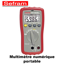 Multimètre numérique portable 6000 points