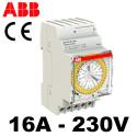 Horloge hebdomadaire analogique ABB