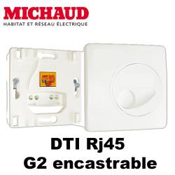 Michaud Dti Rj45 G2 encastrable
