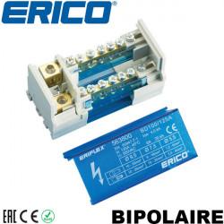 Répartiteur bipolaire 100-125A de 6 à 14 entrées