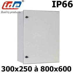 Photo du coffret électrique polyester étanche IP66 de chez IDE