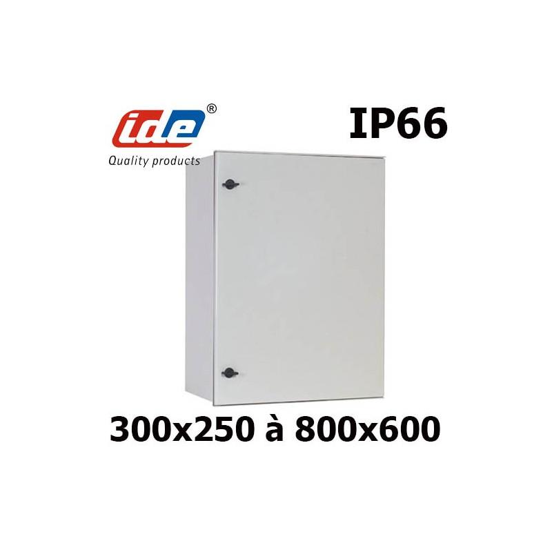 Armoire et coffret lectrique polyester ip66 tanche - Boitier electrique encastrable ...