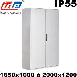 Armoire industrielle IDE Argenta plus BIG IP55 Double porte IDE