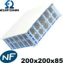 Coffret pavillonnaire Eurohm avec membrane 200x200x85
