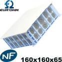 Coffret pavillonnaire Eurohm XL Airmetic 160x160x85mm