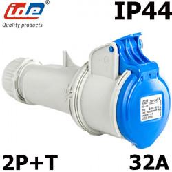 Fiche mobile P17 2P+T 32A