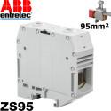Borne Entrelec à vis ZS95 (câble 95mm²) Entrelec