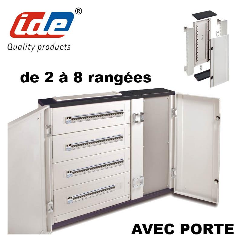 Gaine à câbles ou jeux de barre pour armoire électrique ATLANTIC IP40