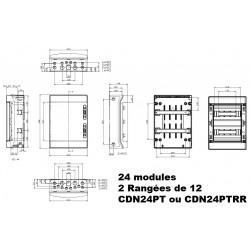 Coffret électrique étanche IP65 IDE Ecology IDE