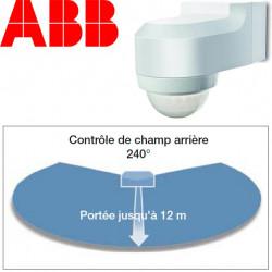 Détecteur infrarouge étanche IP55 240° - ABB Basic LINE