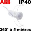 Mini détecteur de présence ABB Basic LINE 360°