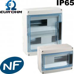 Coffret étanche IP65 Eurohm de type plexo Eur'Ohm