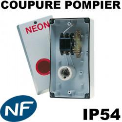 Interrupteur de coupure pompier pour enseigne (avec levier perche) - General Electric