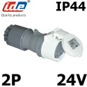 Prise femelle très basse tension 16A IP44 IDE