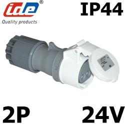 Prise femelle très basse tension 16A IP44