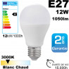 Ampoule LED E27 1060 lm équivalent 75W Blanc chaud 2700K 20,000h