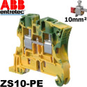 Bornier Entrelec ABB ZS10 à vis - 1SNK508010R0000 Entrelec