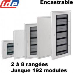 Tableau électrique tertiaire encastrable IDE Atlantic IP40 IDE