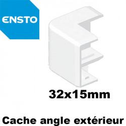 Moulure PVC 32x15mm ENSTO pour mur ou plafond - Longueur 2 mètres ENSTO