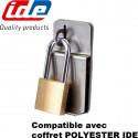 Fermeture par cadenas coffret polyester IDE IDE