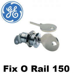 Serrure FOR 150 pour porte coffret FIX O RAIL 150 General Electric