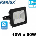 Projecteur LED extérieur AVEC ou SANS détecteur - Étanche IP65