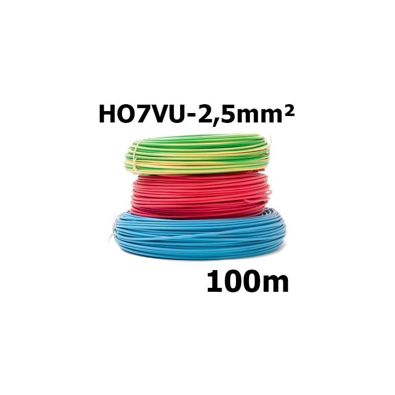 Fil rigide HO7VU 2,5mm²