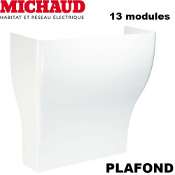 Jonction plafond Goulotte GTL 13 modules MICHAUD Michaud