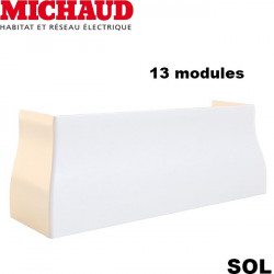 Jonction sol Goulotte GTL 13 modules MICHAUD