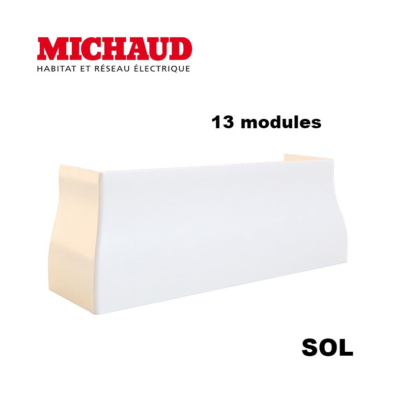 Jonction sol Goulotte GTL 13 modules MICHAUD Michaud