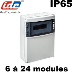 Coffret IDE STAR pour prise de courant ou piscine - Étanche IP65