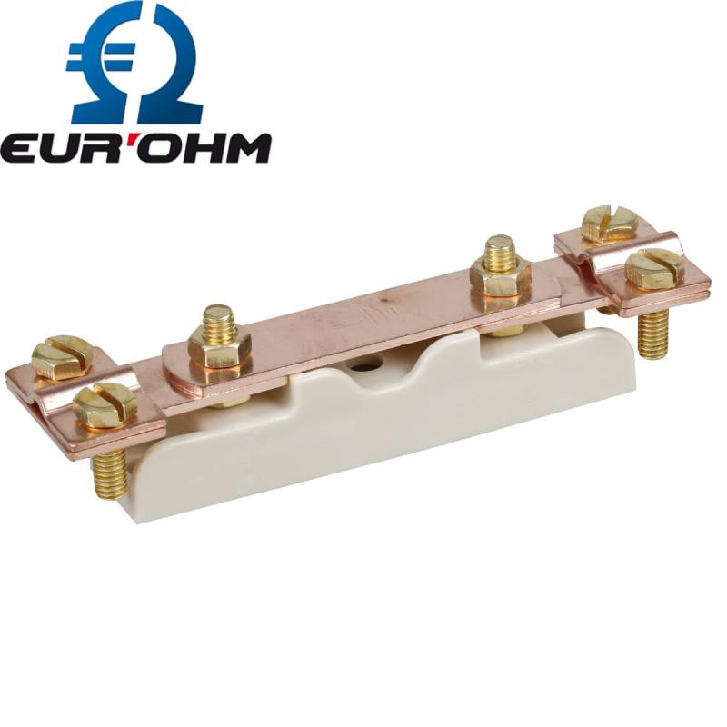 Barrette de coupure de terre basse en cuivre Eurohm Eur'Ohm