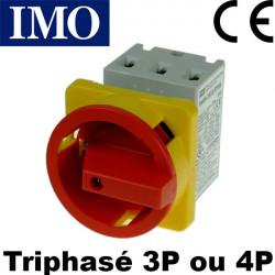 Sectionneur rotatif triphasé 40A ou 63A