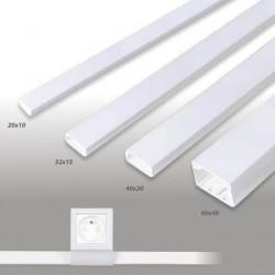 Moulure électrique PVC à 1,51€ le mètre de moulure PVC