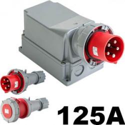 Prise 125A Triphasé et tétrapolaire à partir de 58€ HT - Prise Hypra 125A