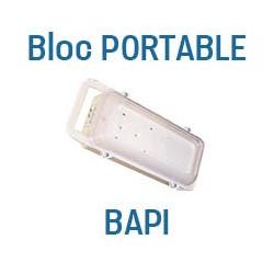 BAPI: Bloc autonome portable à partir de 106.80€ - Eclairage de sécurité