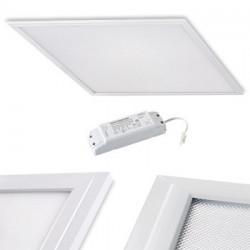 Dalle LED 60x60 encastrable et luminaire pour plafond GARANTIE 2-5 ANS