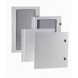 Porte pour armoire et coffret électrique