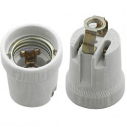 Douille électrique pour ampoule E27, GU10 - Douille ampoule à 0,80€