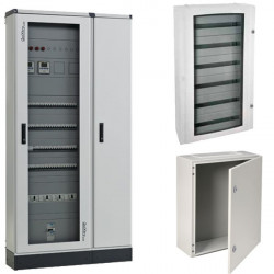Armoire électrique métallique pour tertiaire, indusriel ou BTP