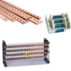 Répartiteur et jeux de barres cuivre pour armoire électrique TGBT
